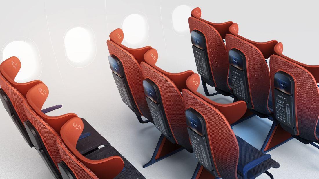 Move Ialah Konsep Kerusi Pesawat Penumpang Yang Canggih